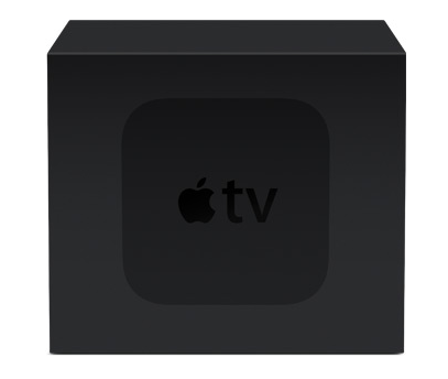Apple TV комплект поставки