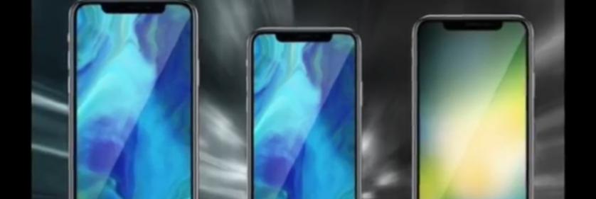 Линейка iPhone 2018 - iPhone 9, iPhone X и iPhone X Plus