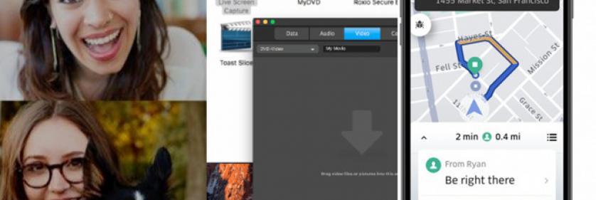 Сводка новостей по приложениям: Skype 8, Roxio Toast 17, Uber, KeyCue 9, еще!